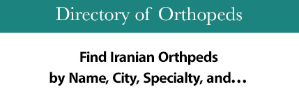 Find Iranian Orthopeds