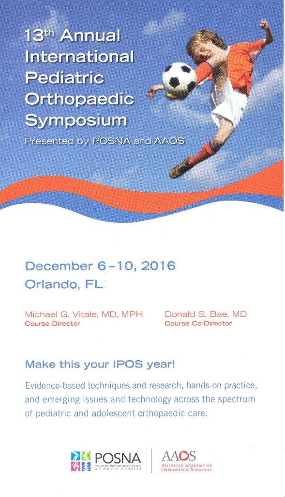 ۱۳th-annual-international-pediatric-orthopedic-symposium