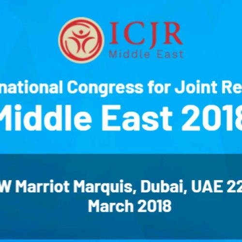 The 6th International Congress for Joint Reconstruction Middle East 2018