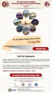 همایش تروماتولوژی، آرتروسکوپی و زانو - ترکیه